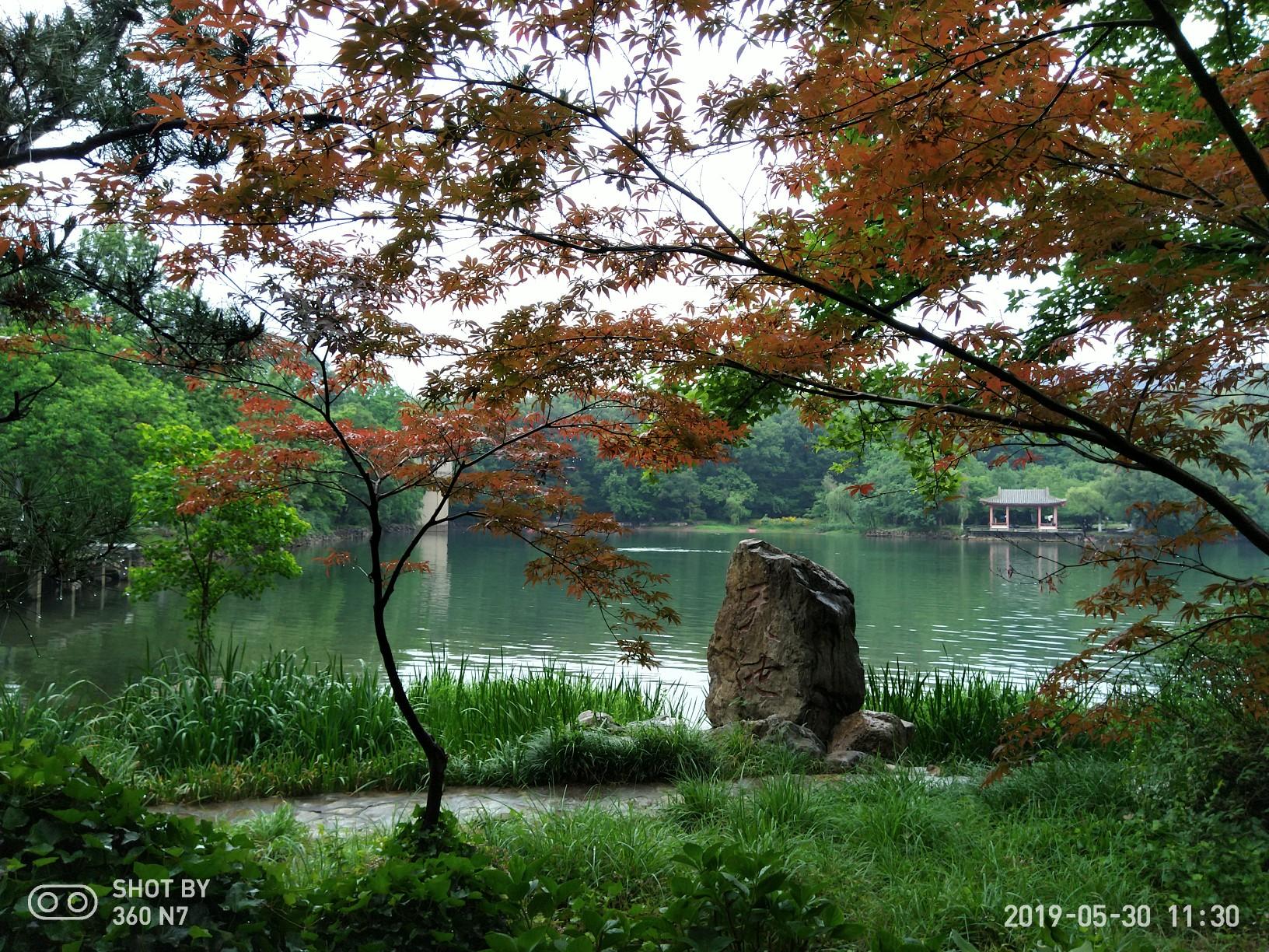 南京紫霞湖
